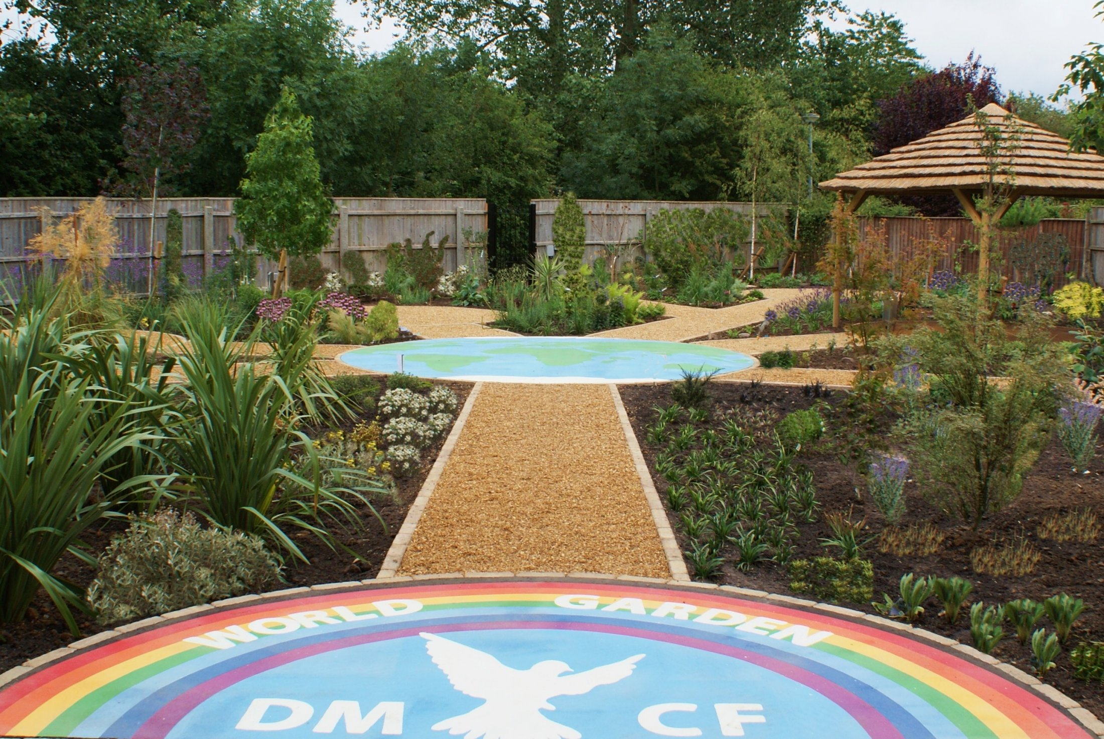 Lottery funded community garden design