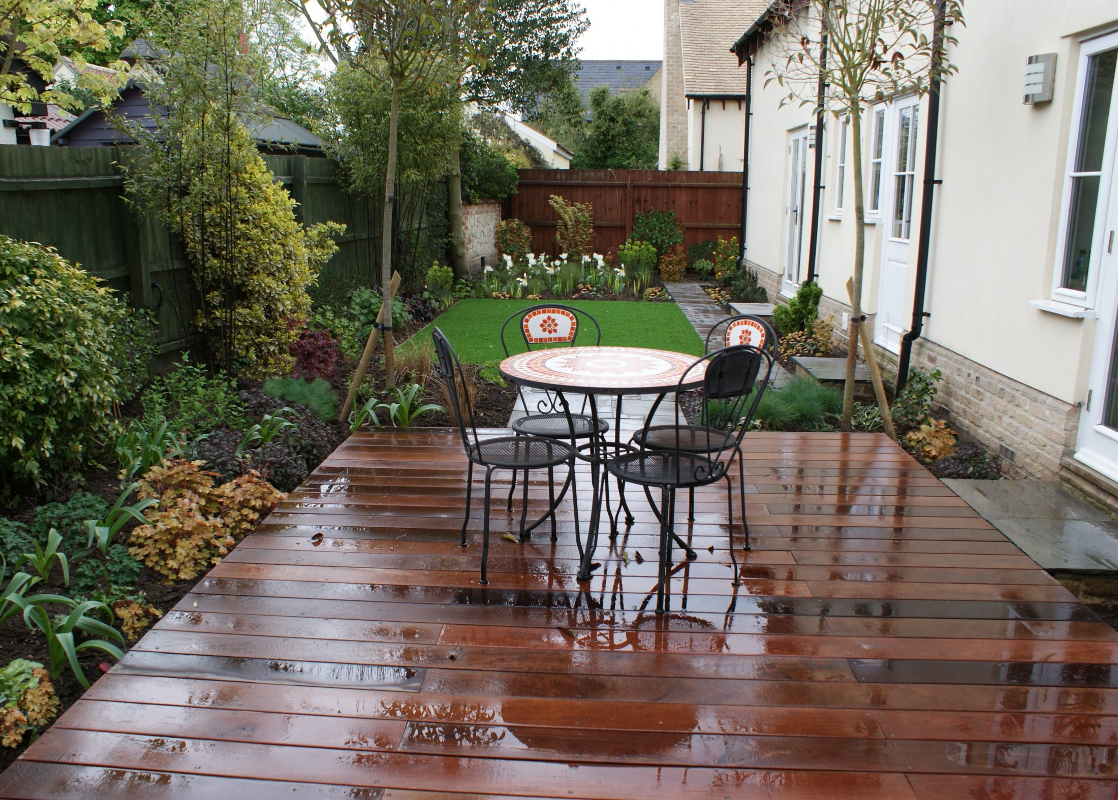 Burwell, Cambridgeshire hardwood decking