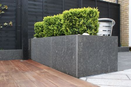 Raised planters in Longstowe