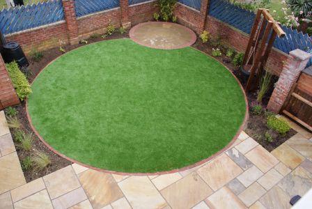 Circular garden design Ely, Cambridgeshire