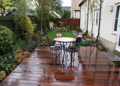 Burwell, Cambridgeshire hardwood decking