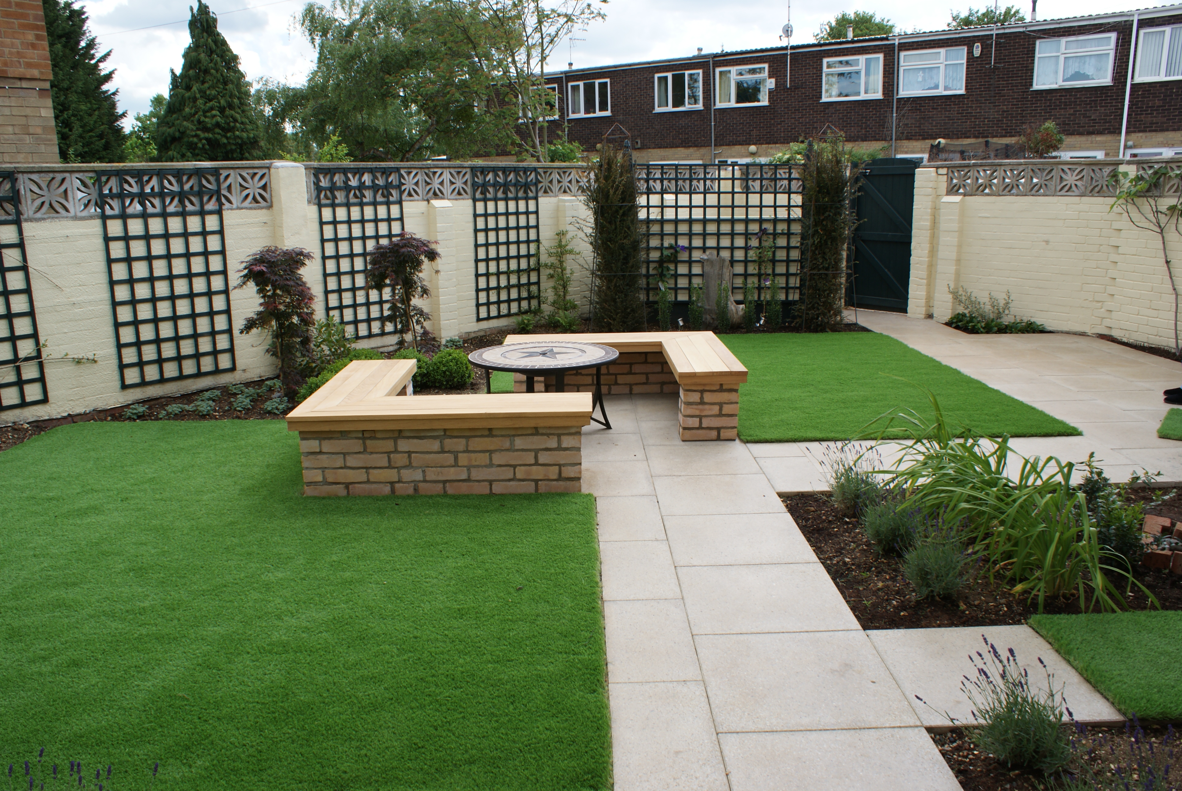 cambridge garden design for a small garden