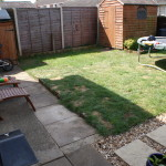 A Family Garden Before