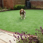 Artificial grass is ideal for children and pets