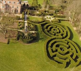 Large garden maze design garden design and landscaping for Garden maze designs