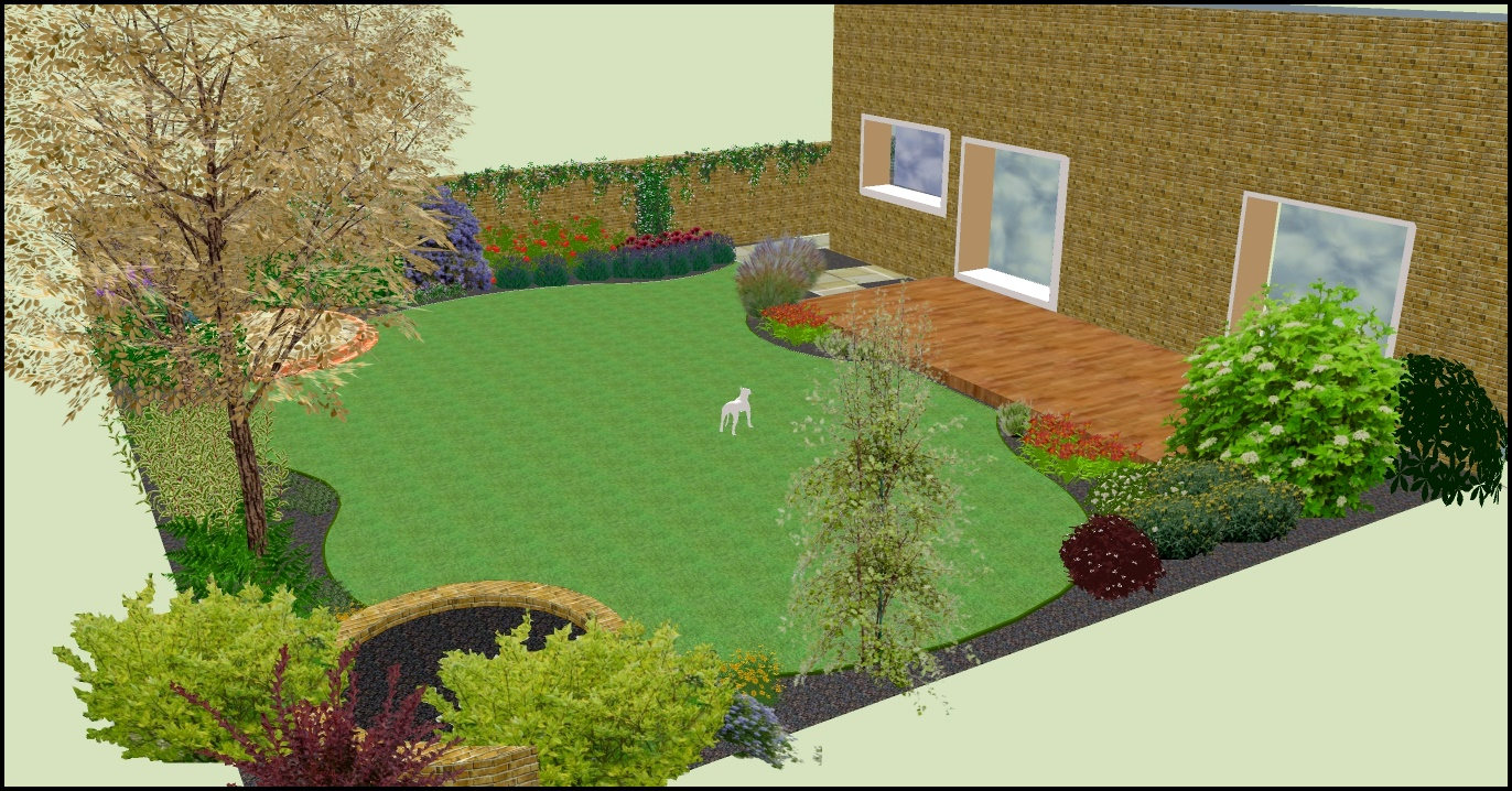 Using 3d design software to create garden designs garden for Garden design software