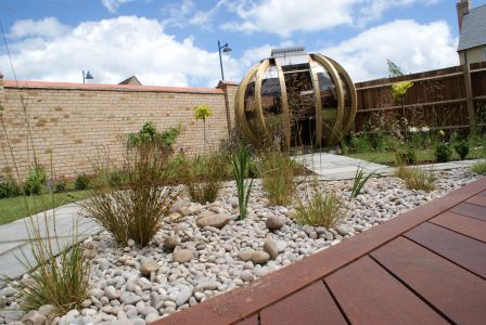 Landscape and design in Cambourne, Cambridgeshire