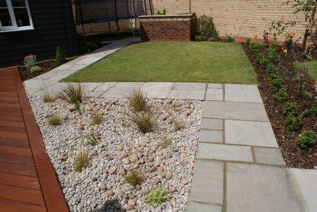 Modern Garden in Longstanton