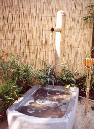 Japanese style Water Feature design