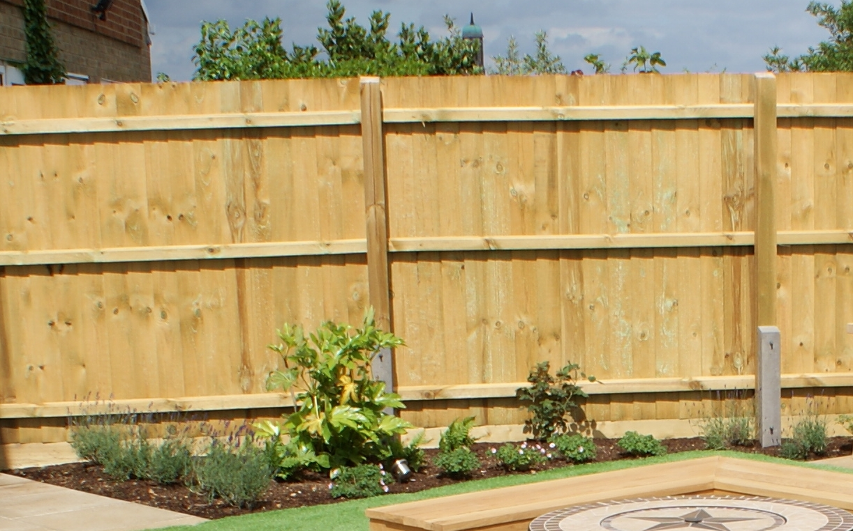 Closed board fence, emergency fence repairs