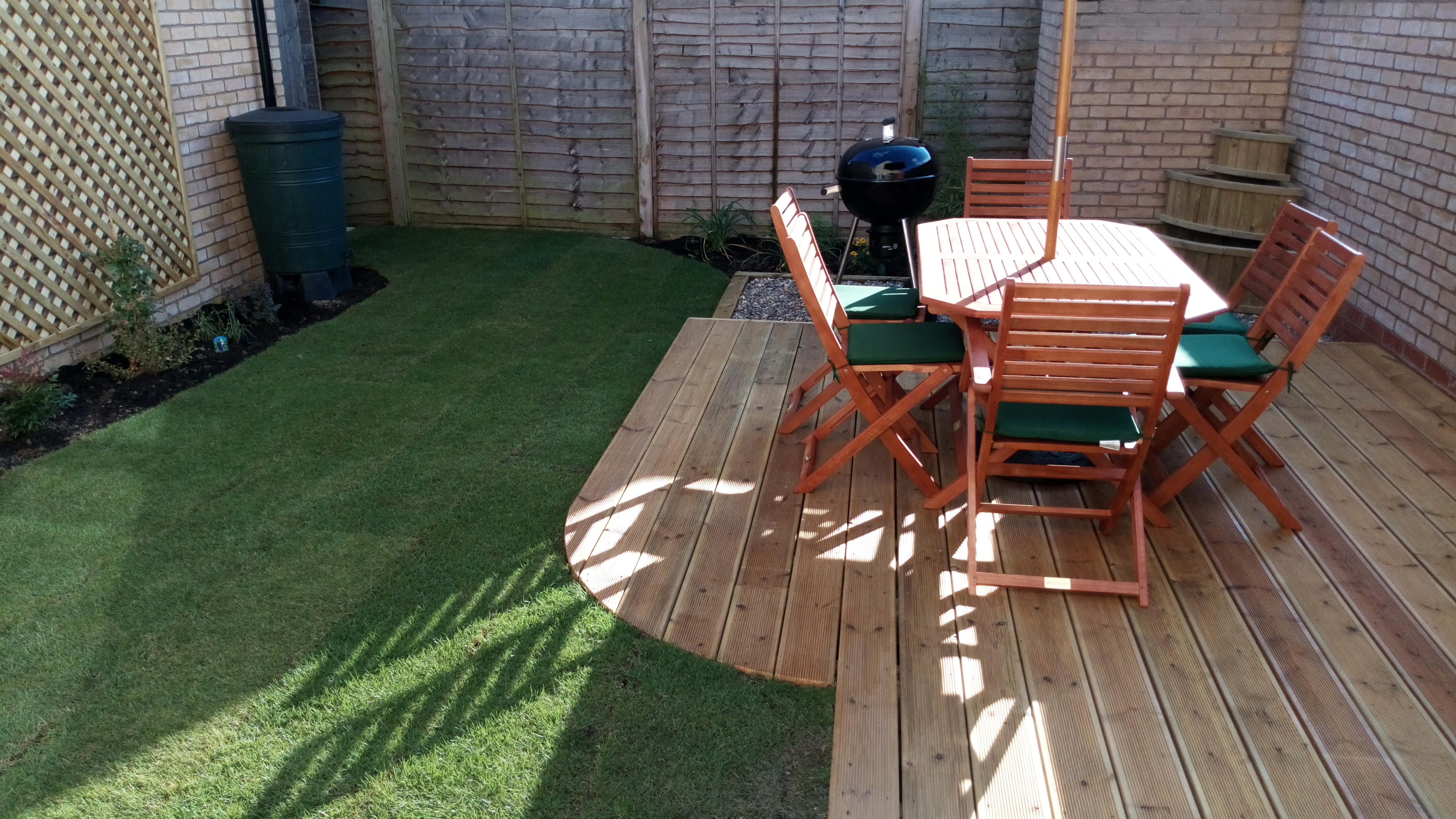 Another Small Garden In A New Build Home Garden Design And Landscaper Northstowe Papworth Everard Cambourne Cambridgeshire